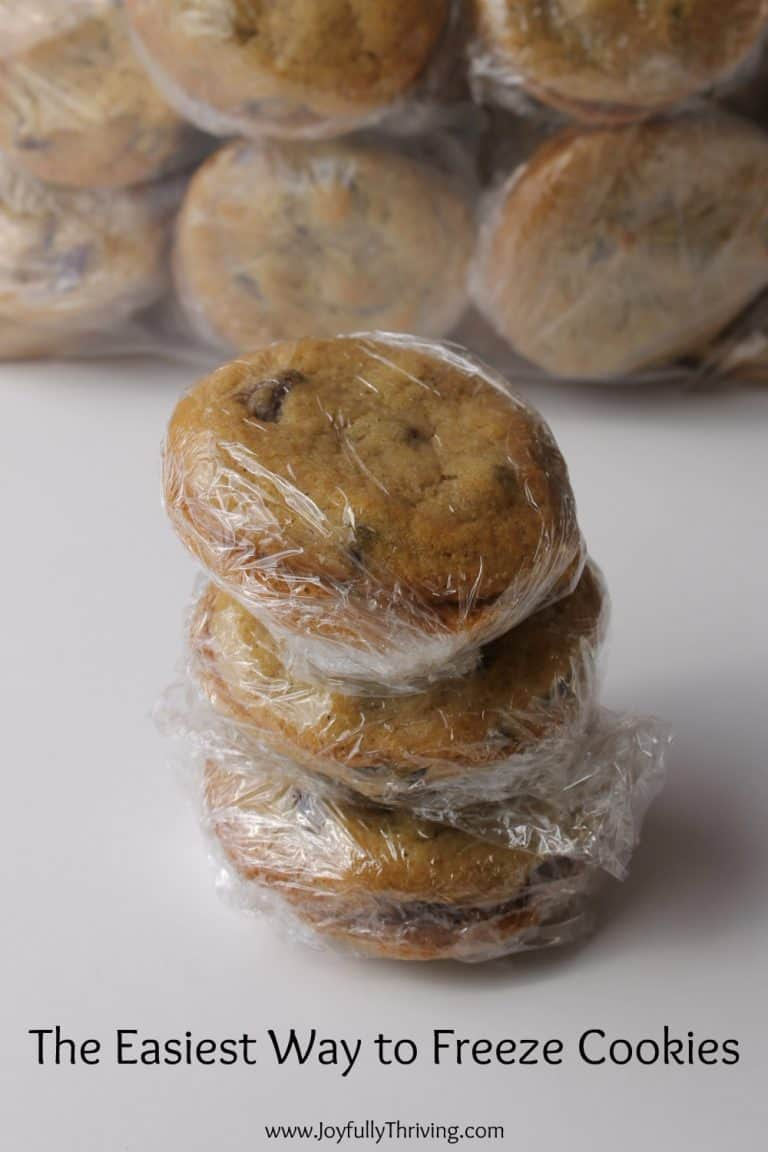 How to Freeze Cookies for Lunches