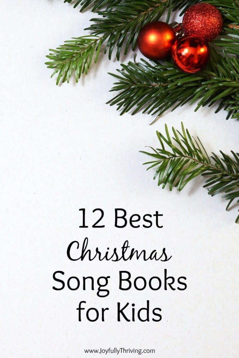 12 Best Christmas Song Books for Kids
