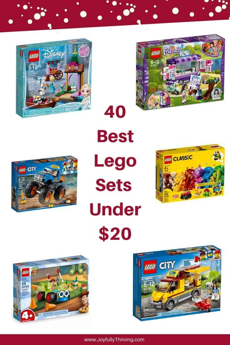 Best Lego Sets Under $20
