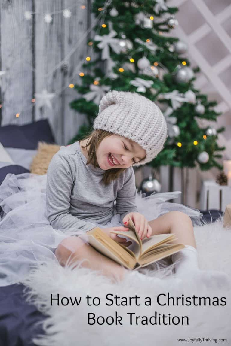 How to Start a Christmas Book Tradition