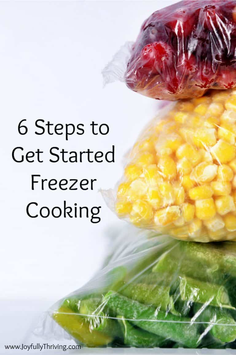 Freezer Cooking 101 | How to Get Started with Freezer Cooking