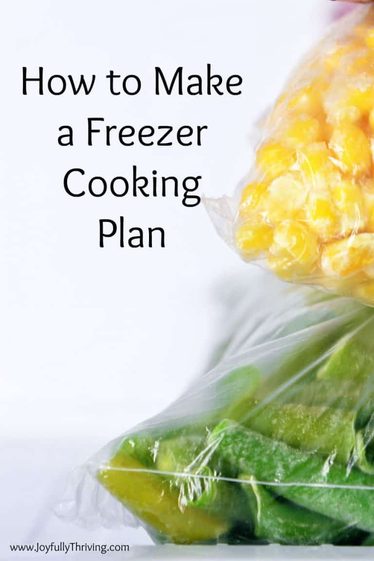 My Before Baby Freezer Plan | How to Make a Freezer Cooking Plan