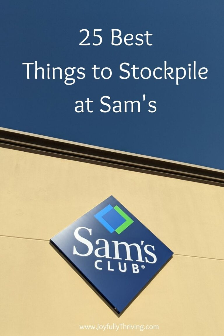 25 Best Things to Stock Up at Sam's Club